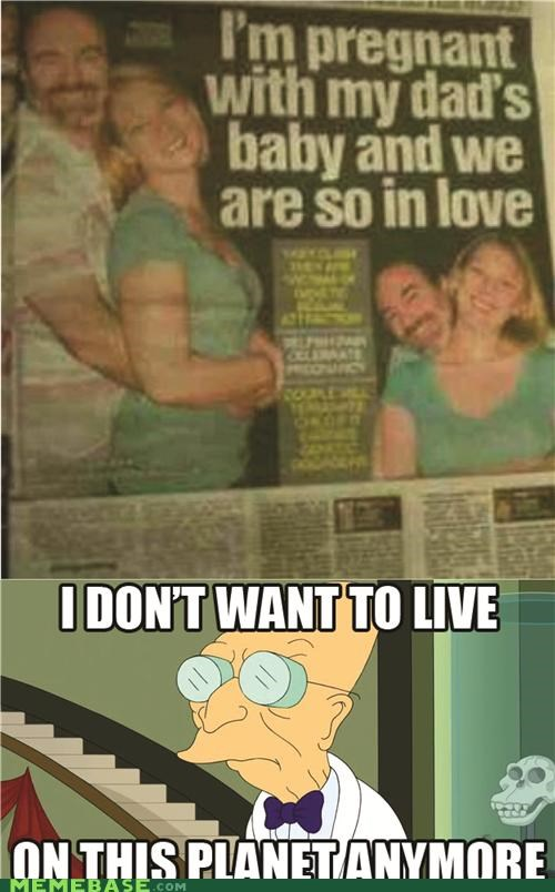 baby,dad,i dont want to live on this planet anymore,love,news,pregnant,romance