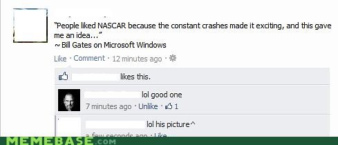 best of week,crash,facebook,nascar,windows