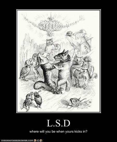 acid dancing animals drugs Hall of Fame historic lols im-so-confused lsd vintage wtf - 5387869952