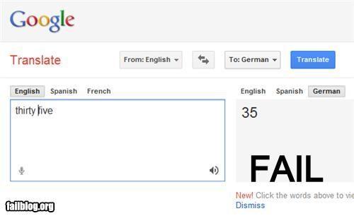 Google Translate Fail No shit Sherlock o.o