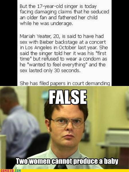 baby mama drama best of week dwight schrute false justin bieber the internets the office - 5388332544