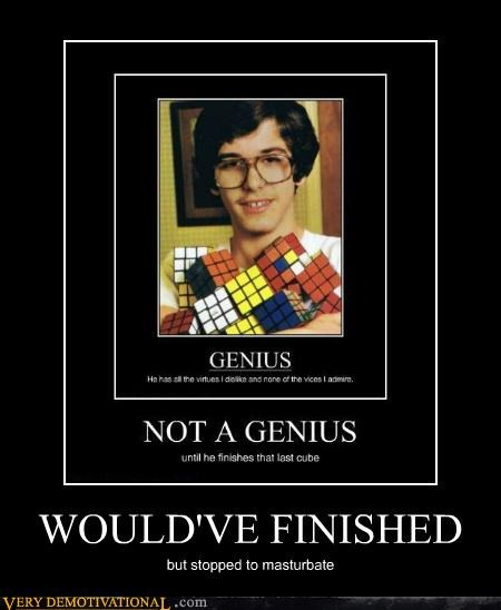 fapping genius Pure Awesome rubix cube - 5388339200