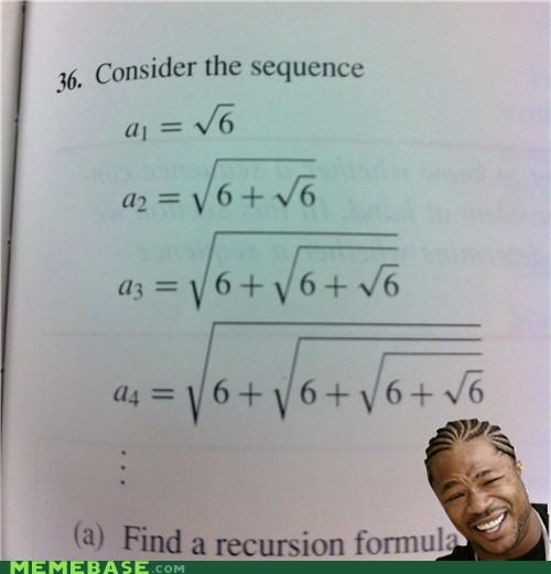 6 radical sequence square roots yo dawg - 5388568832