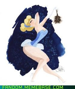 disney Fan Art pin up princess - 5388789760