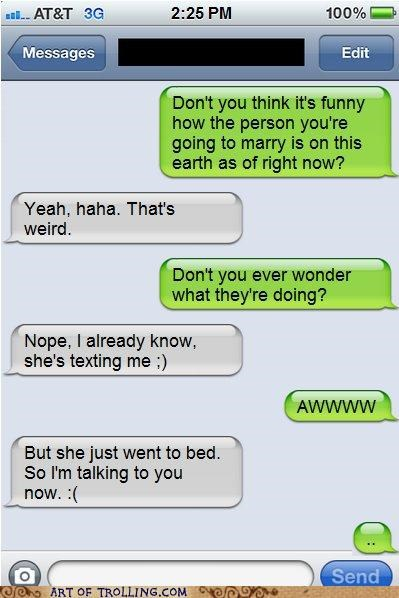 Awkward marriage texting - 5388867328
