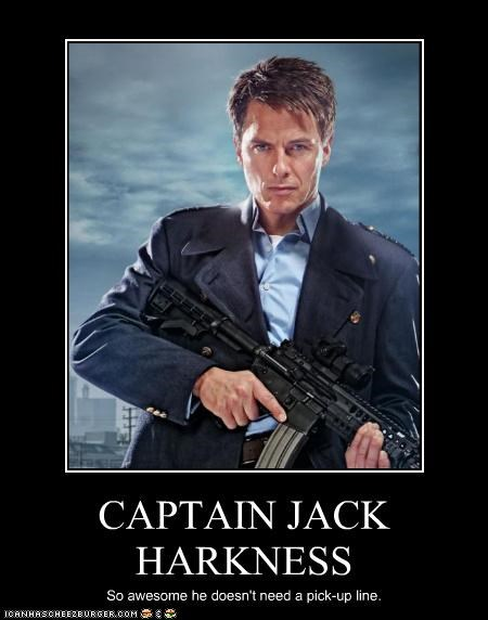 awesome Captain Jack Harkness john barrowman pickup line Torchwood - 5388944128