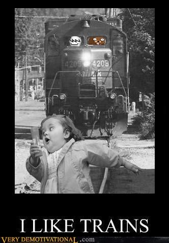 hilarious,pedobear,run,trains,wtf