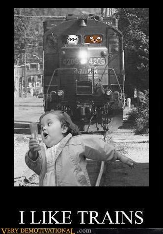 hilarious pedobear run trains wtf - 5389015808