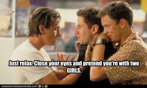 close your eyes,gay,girls,jamie kennedy,matthew lillard,relax,scream,skeet ulrich