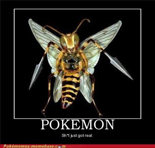 beedrill IRL Pokémon twineedle - 5389191424