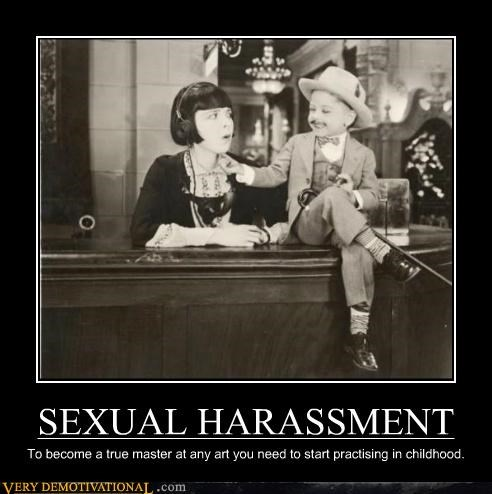 hilarious,practicing,sexual harassment