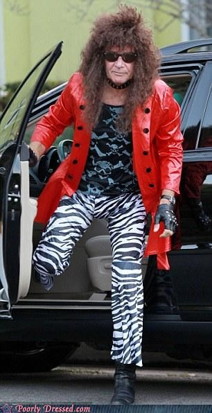 glam rock clothes Harrison Ford