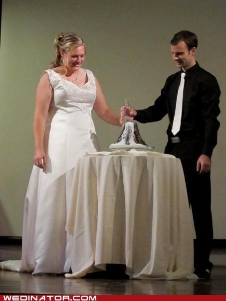 bride funny wedding photos groom lava unity candle volcano - 5390157824