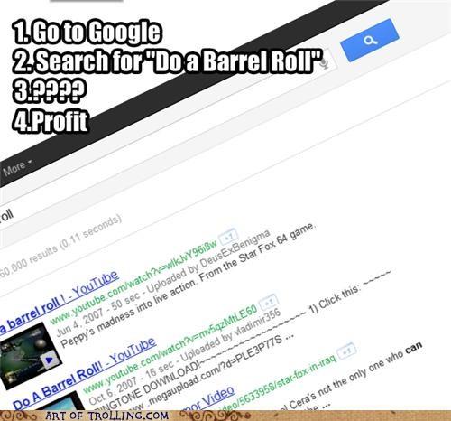 awesome barrel roll best of week google - 5390208256