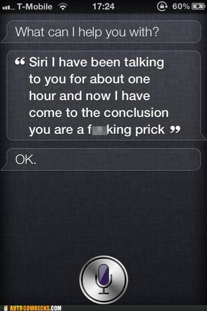 insults personality prick siri - 5390226176
