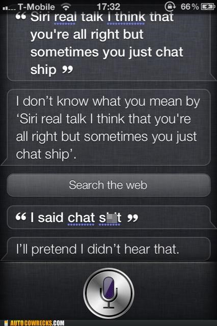 ship,siri,swears