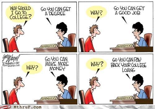 cartoons college comic degree employment newspaper - 5390232320