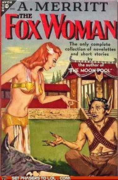books cover art fantasy fox redhead science fiction wtf - 5390250240