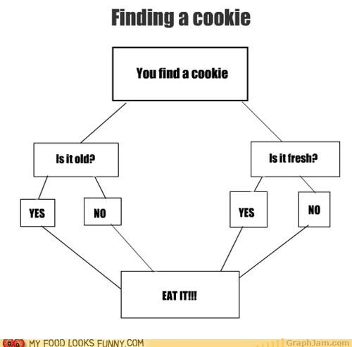 Chart,cookies,decisions,flowchart,graph