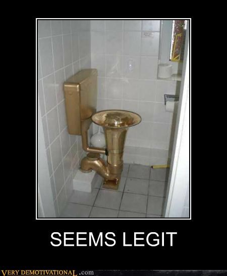 Pure Awesome seems legit toilet tuba - 5390430976