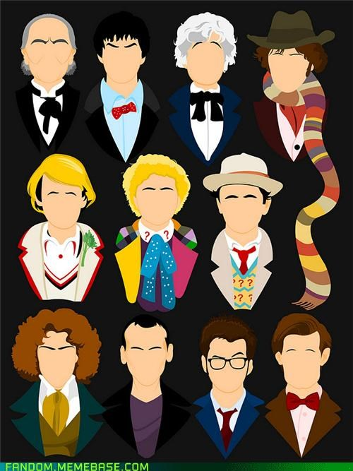 awesome doctor who Fan Art scarf - 5390563584