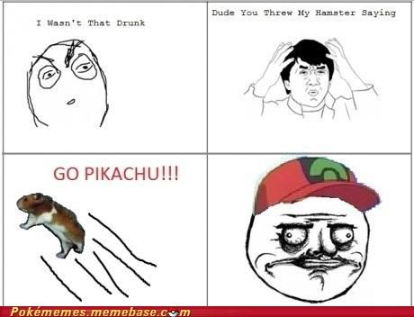 best of week hamster i choose you me gusta pikachu Rage Comics - 5390627584