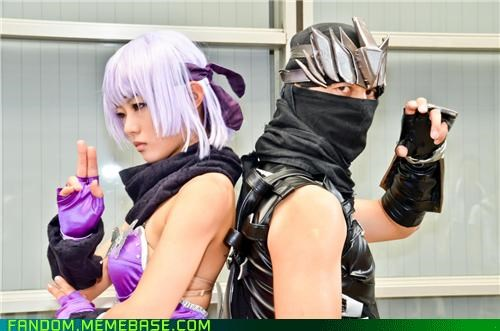 Ayane,cosplay,ninja gaiden,Ryu Hayabusa,video games