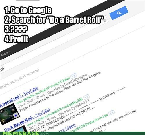barrel roll,google,Memes,spin,whoa