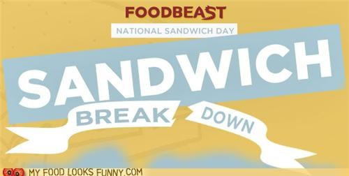foodbeast holiday infographic national sandwich day - 5391024640