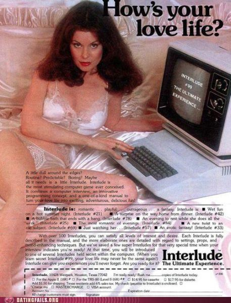 Ad advertisement computer love life online dating We Are Dating - 5391230208