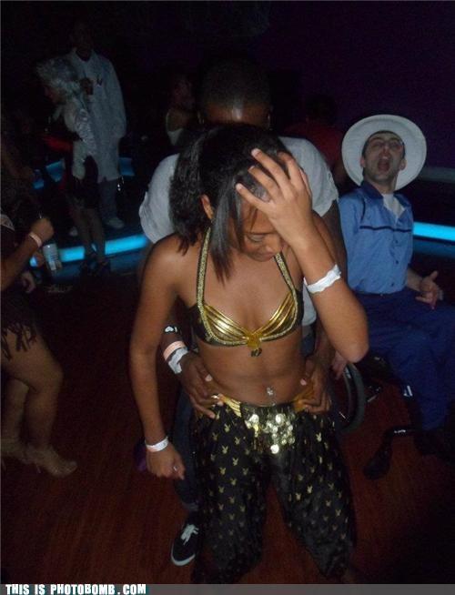Awkward dancing fun Party wheelchair - 5391476992
