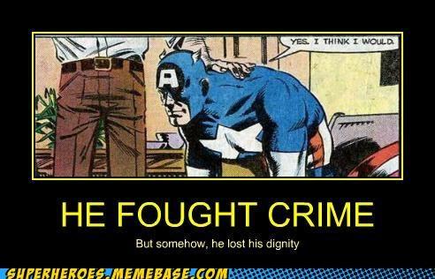 captain america crime dignity sexy times Super-Lols - 5391635712