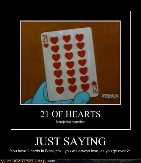 ace bad idea blackjack card idiots wtf - 5391800832