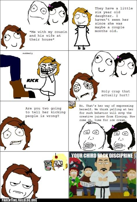 discipline parenting Parenting Fail rage comic self expression South Park