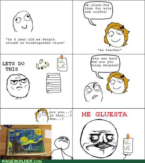 art best of week me gusta Rage Comics Van Gogh - 5391887872