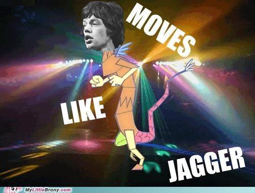 discord jagger meme moves like jagger Music - 5392002560