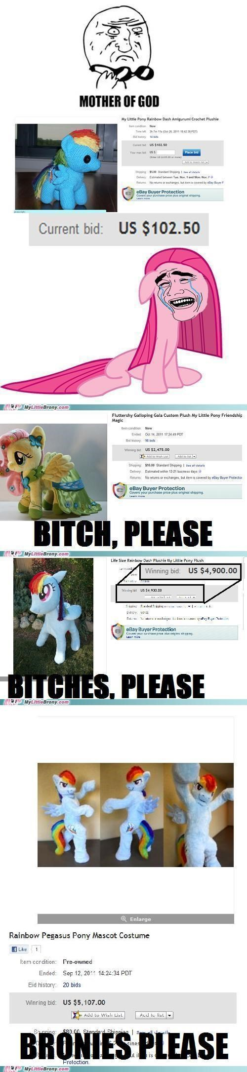 The Rainbow Dash Costume