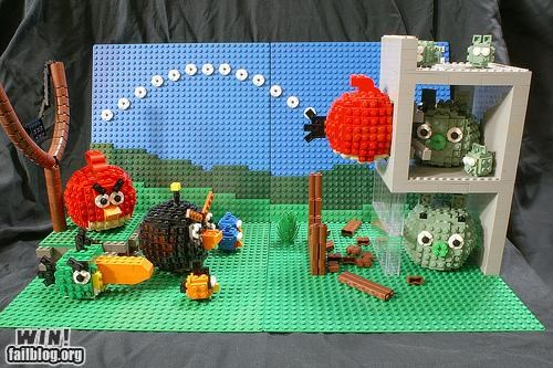 angry birds game iphone lego mobile nerdgasm