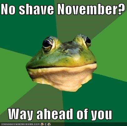 2011 animemes foul bachelor frog november shave - 5392490240