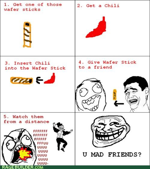 chili,Rage Comics,troll,wafer
