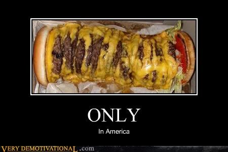 america burger huge Terrifying wtf - 5392519424