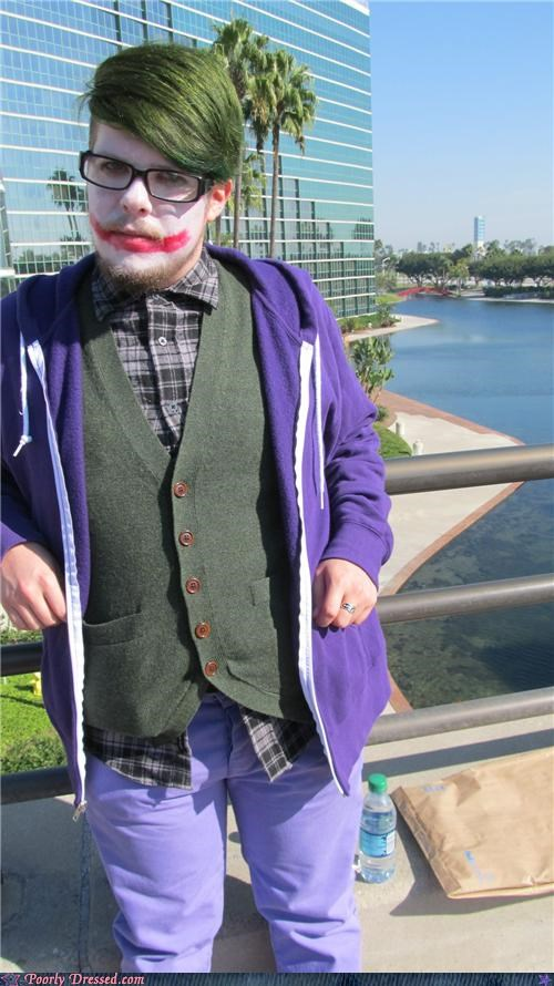 batman,hipster cosplay,joker
