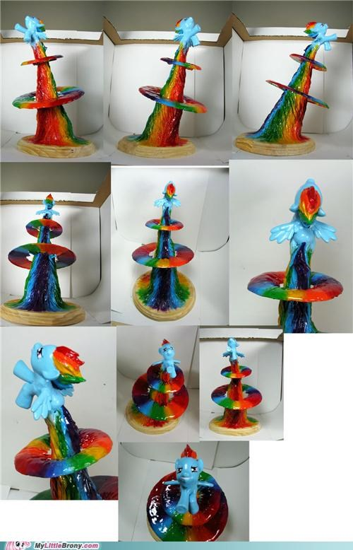 amazing art best of week fantastic IRL rainbow dash sonic rainboom - 5392819456