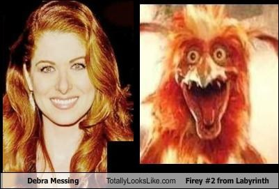 celeb,debra messing,funny,labyrinth,Movie,TLL