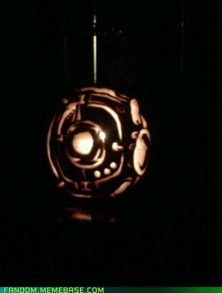 awesome halloween jack o lanterns Nyan Cat pumpkins video games - 5393046784