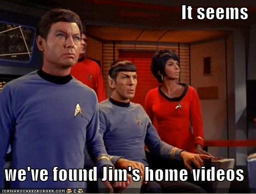 DeForest Kelley Leonard Nimoy McCoy Nichelle Nichols Spock Star Trek uhura - 5393167616
