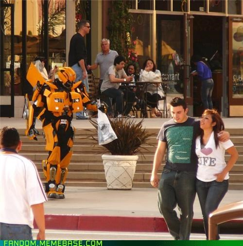 Bumblebee cosplay cute out of place transformers - 5393732352