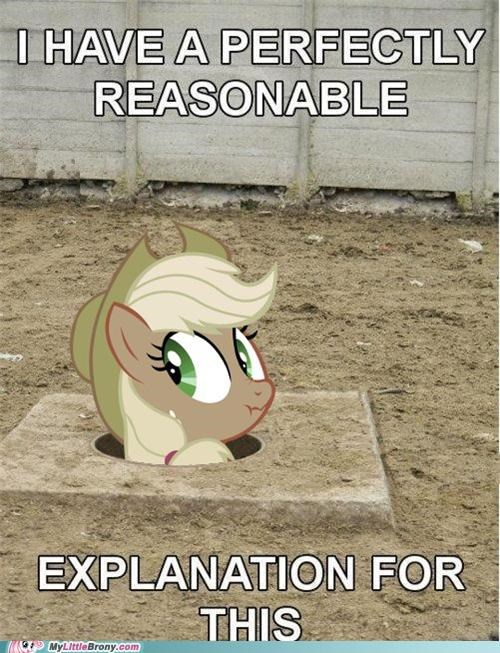 applejack appliejack im-lying meme no explanation season 2 - 5393785600