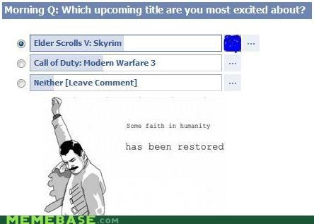 faith in humanity It Came From the Interwebz Skyrim video games - 5394105088
