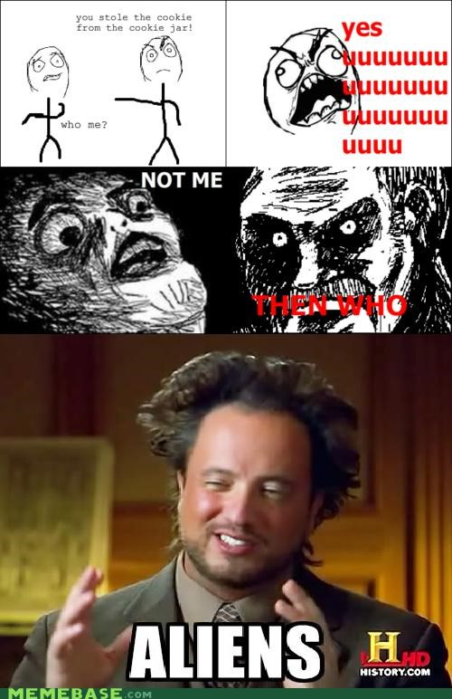 ancient aliens,cookies,jar,me,no,who